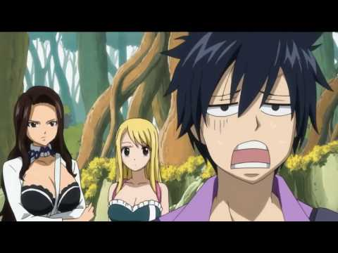 Fairy Tail Gray funny moments