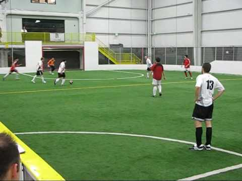 Seattle Stonewall Indoor Soccer - Tyler Scores!