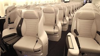 Top 10 Best Premium Economy Classes on Airlines from Skytrax