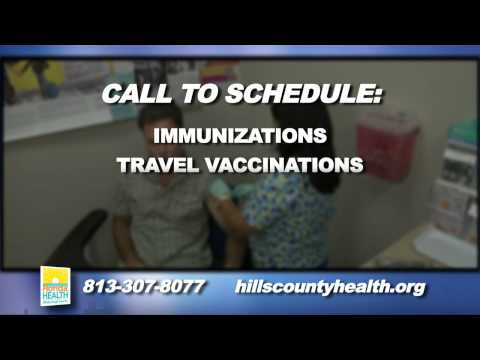 NEW IMMUNIZATION CLINIC FLORIDA HEALTH DEPARTMENT