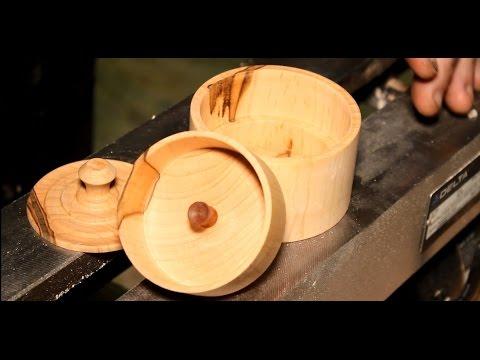 Wood Turning a Jewelry Box