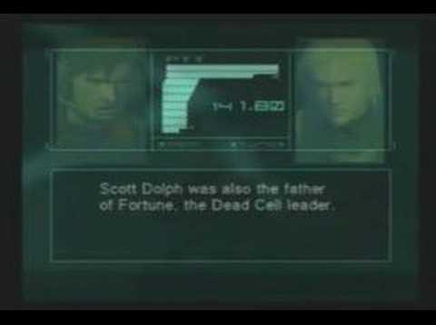 Metal Gear Solid 2: Sons of Liberty - Vamp is Bi