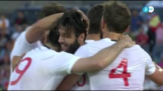Okriashvili Georgia Goal 0-1 - Spain vs Georgia International Friendly 2016 HD