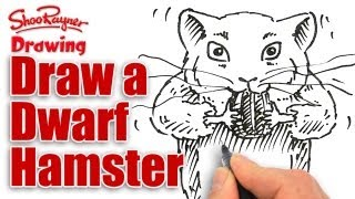 How to Draw a Dwarf Hamster - Spoken Tutorial