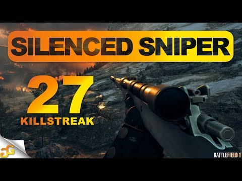 Battlefield 1: Silenced Sniper Is Amazing! Suppressed Enfield M1917 | BF1 Apocalypse Dlc