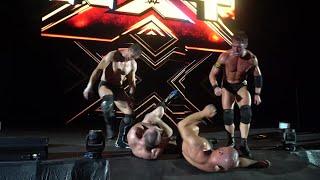 Undisputed ERA ambush Lorcan & Burch at NXT Live