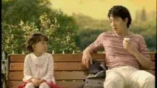 韓國廣告-超好喝的香蕉牛奶(바나나 우유)