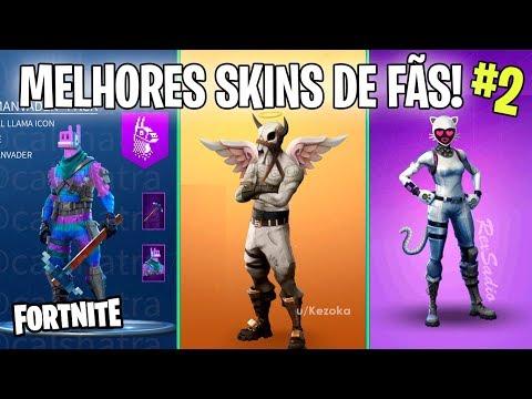 fortnite as melhores skins criadas pelos fas do battle royale 2 - mr llama fortnite skin