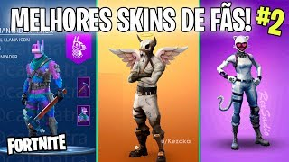 FORTNITE-THE BEST SKINS CREATED BY FANS OF BATTLE ROYALE! #2