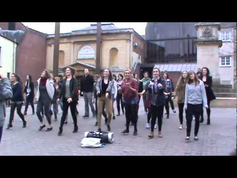 MYCO Flash Mob Bonn Sq Anything Goes