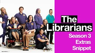 The Librarians Series 3 DVD Extra Snippet