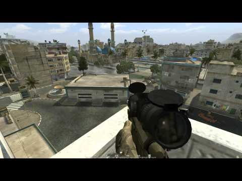 Project Reality v0.973 - Operation Marlin: Sniper Team HIGHLIGHTS