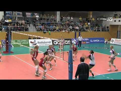 Evropská volejbalová liga žen, Česko vs  Bulharsko