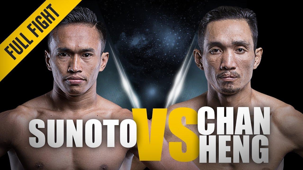 ONE: Full Fight | Sunoto vs. Chan Heng |