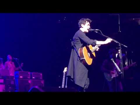 John Mayer, Queen of California, Boston 9 Apr 17 Front Row