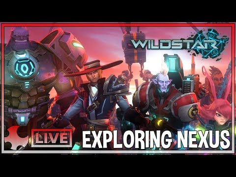 EXPLORING NEXUS| Wildstar Gameplay | Live with the Krew