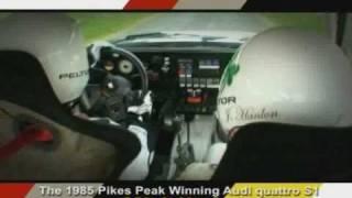 1985 pikes peak audi quattro s1 michle mouton re united group b