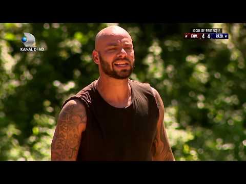 Exatlon Romania (04.11.2018) - FAIMOSII, motivati si presati de Giani! Cum s-au descurcat? Partea 2