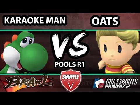 Shuffle V - Oats (Lucas) Vs. Karaoke Man (Yoshi) - Pools - SSBB