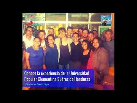 Entrevista - Universidad Popular de Honduras - Franco Lagos - Septiembre 2017