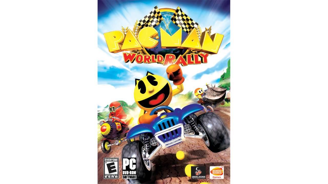 Gamecube pac-man world rally main menu the spriters resource.