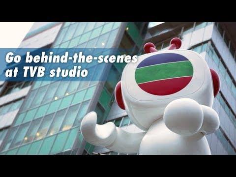 Go behind-the-scenes at TVB studio