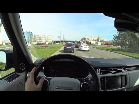 2015 Land Rover Range Rover 4.4 SD AT Vogue SE  POV Test Drive