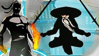 ТЕНЬ: А НУ В ОЧЕРЕДЬ! ПОБЕДИЛ ВСЕХ ТЕЛОХРАНИТЕЛЕЙ И ОТШЕЛЬНИКА Shadow Fight 2 от ФГТВ