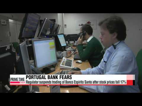 Global stock markets slip on Portugal bank crisis