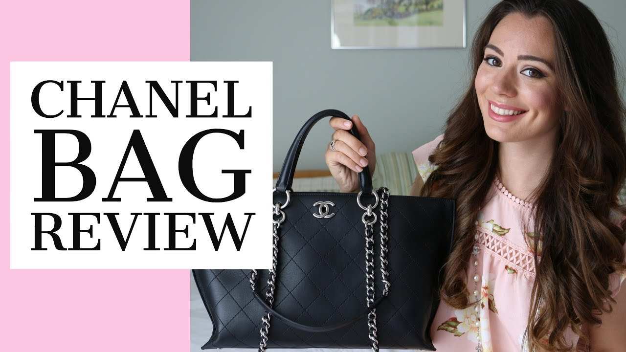 bad23ab4cadd CHANEL BAG REVIEW VIDEO - YouTube