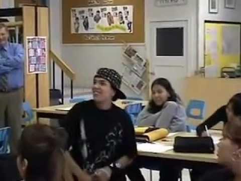 Site Visit to Scott Collegiate High School, Regina, Saskatchewan; Student Voices