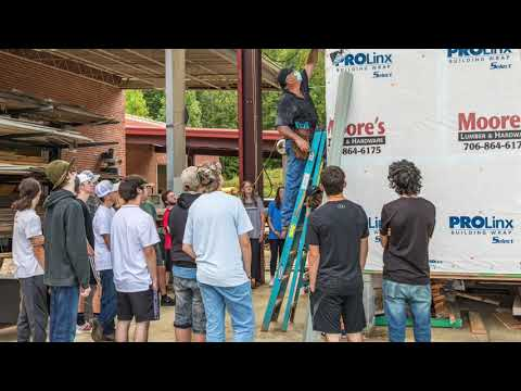 Lumpkin County High School Habitat for Humanity Build