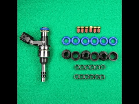 GDI Gas Direct Injection Fuel Injector Removal & Servicing