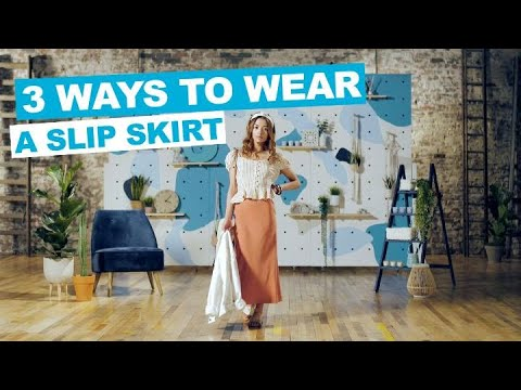 [VIDEO] - PRIMARK | How To | 3 Ways to Wear a Slip Skirt 3