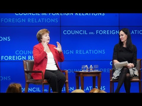 A Conversation on Financial Inclusion With World Bank CEO Kristalina Georgieva