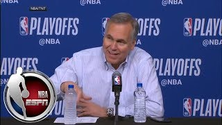 [FULL] Mike D'Antoni on the one player who sparked the Rockets' rally vs. the Wolves | NBA on ESPN thumbnail