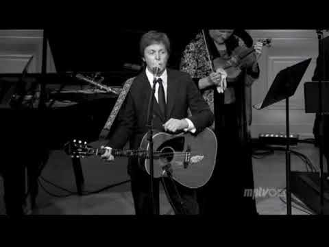 Paul McCartney Live At The Library Of Congress, Washington, USA (Tuesday 1st June 2010)