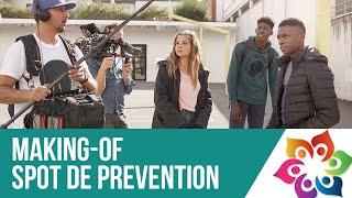"""Making Of - Spot Prévention """"Non au Harcèlement 2018"""""""