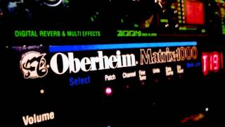 Oberheim Matrix 1000 patches
