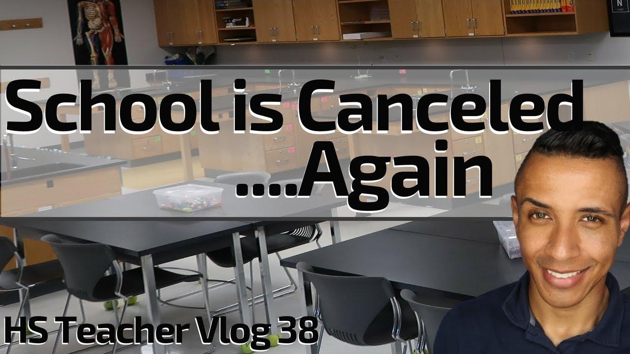 A Week in the Life of a Teacher | High School Teacher Vlog 38 | Holiday & School Cancellation