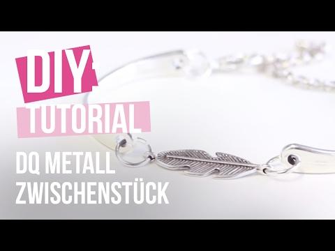 DIY: Armband mit Zwischenstück DQ Metall