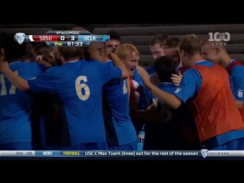 Highlights: UCLA Men's Soccer vs. SDSU