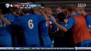Highlights: UCLA Men\'s Soccer vs. SDSU