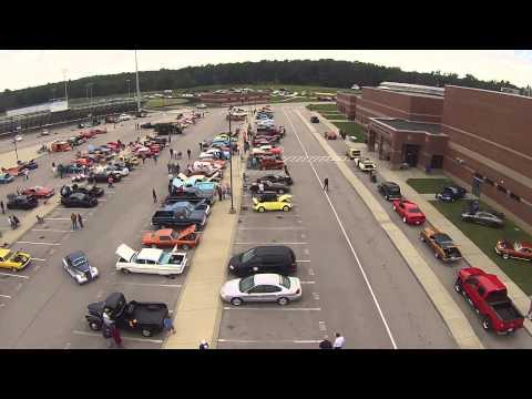 2014 Eagle One car show, East Hickman High School