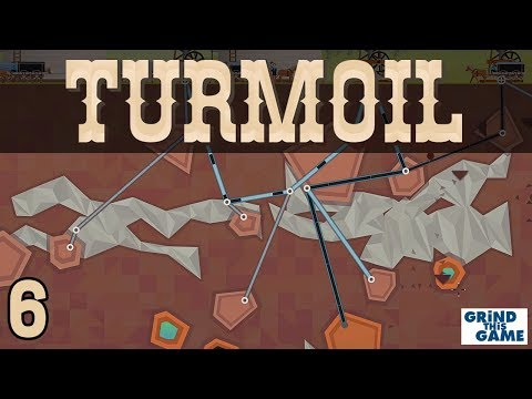 TURMOIL #6 - Oil Drilling Game - INTO THE GAS - Plains Biome