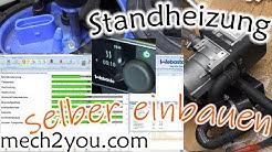 🛠️ Standheizung selber einbauen | Webasto Thermo Top Evo 4 Benzin |Skoda Fabia 1.2 TSI #Standheizung