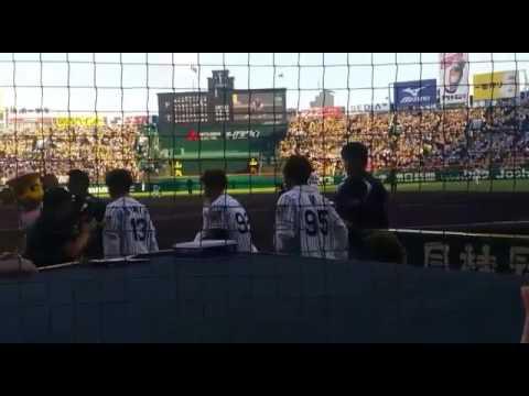 [Fancam] 170602 BTS At The Hanshin Tigers Baseball Game