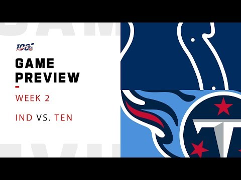 Indianapolis Colts vs. Tennessee Titans Week 2 NFL Game Preview