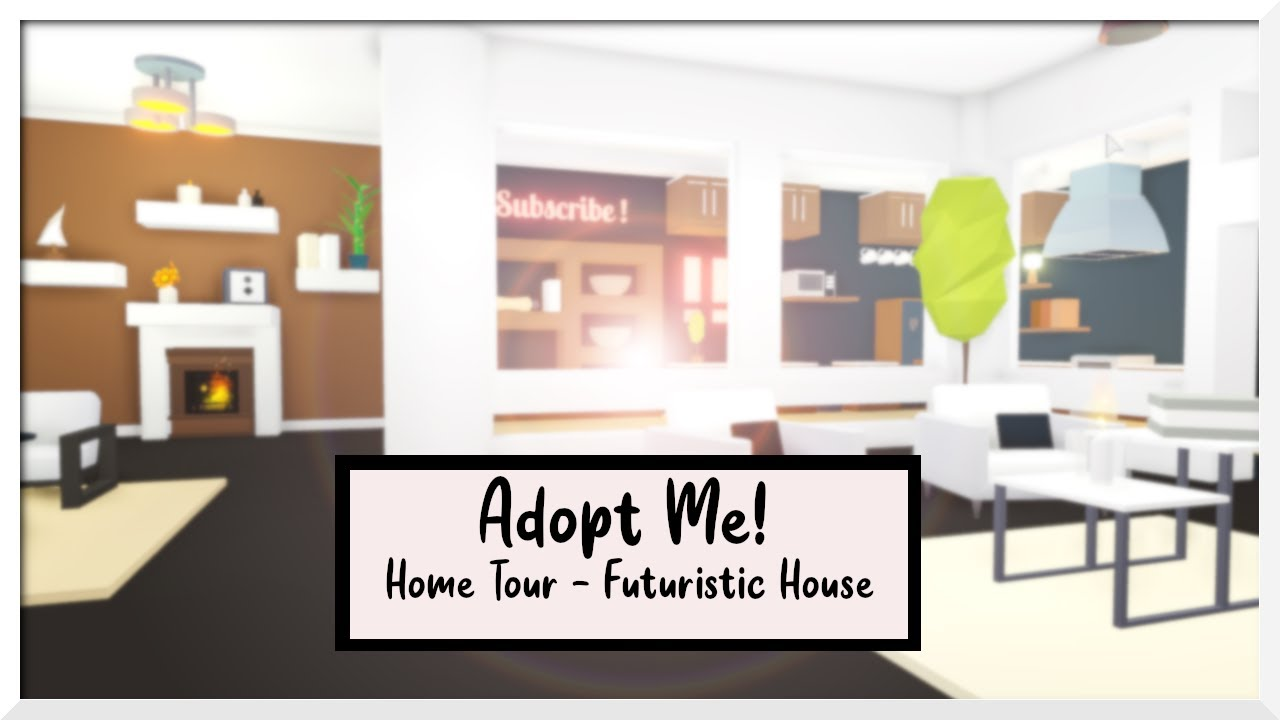 Modern Aesthetic Futuristic House Tour Mini Natural Pet Park Roblox Adopt Me Youtube