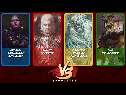 Commander VS S8E5: Inalla vs Edgar Markov vs Arahbo vs The Ur-Dragon
